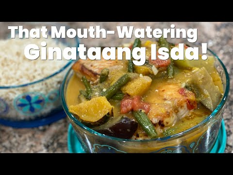 How to Make Fish Fillet in Coconut Milk | Ginataang Isda