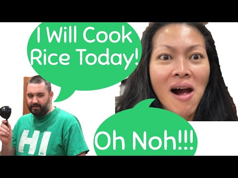 How to Cook Rice with your finger (the Filipino way).
