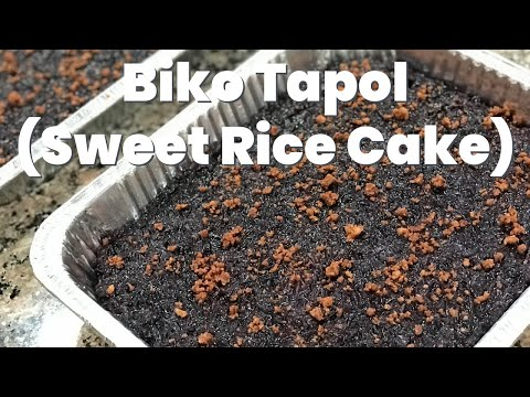 Biko Recipe - How to Make Filipino Sweet Rice Cake
