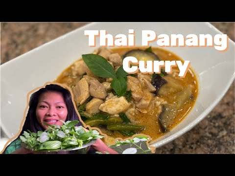 Panang Curry Recipe - How to Make Thai Panang Curry with Chicken