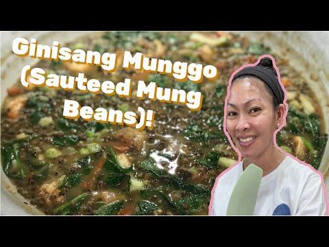 How to Make Ginisang Munggo or Mung Beans Soup Recipe