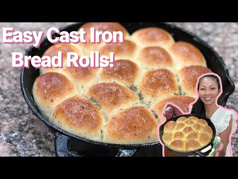 How To Make Cast Iron Bread Rolls