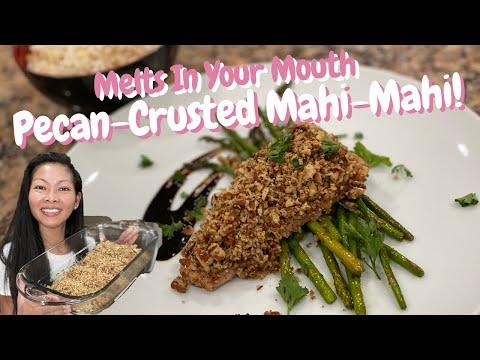 How to make Pecan Crusted Mahi Mahi (Fish)