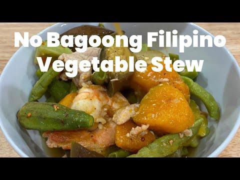 How to Make Filipino Vegetable Stew