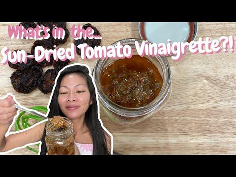 How to Make Sun-Dried Tomato Vinaigrette