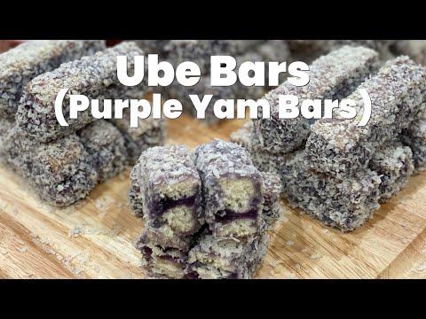 Ube Bars Recipe