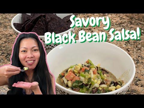 Black Bean Salsa Recipe - How to Make Black Bean Salsa