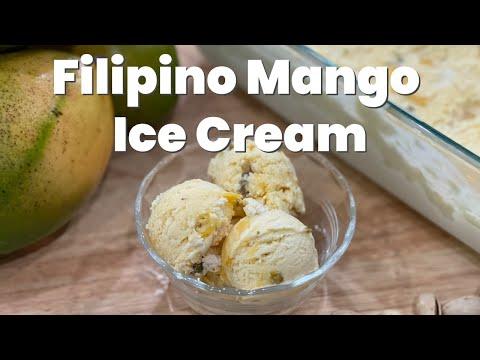 Filipino Mango Ice Cream Recipe
