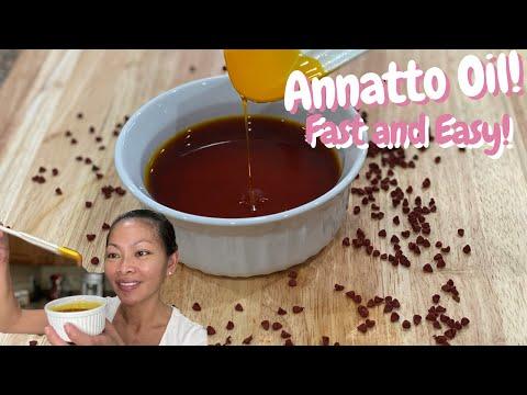 How to Make Annatto Oil