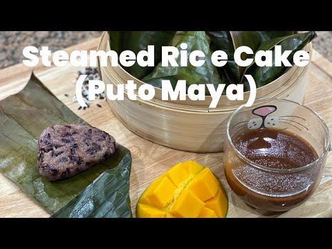 Puto Maya And Sikwate Recipe