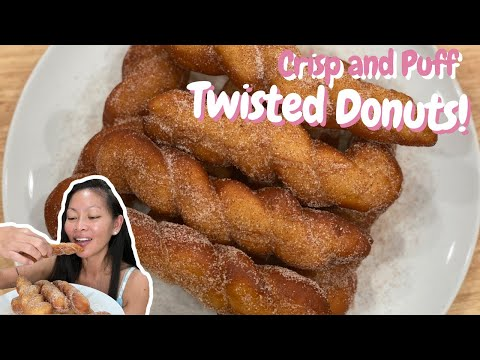 How to Make Twisted Donuts (Shakoy)