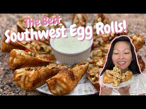 How To Make Southwest Egg Rolls