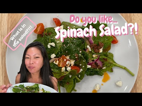 How to Make Hawaiian Spinach Salad