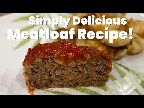 Meatloaf Recipe - How to Make Meatloaf