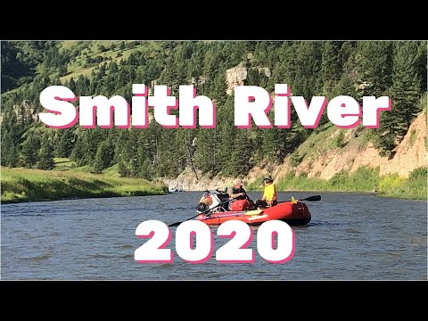 Smith River float trip, Montana July, 2020 in 4K