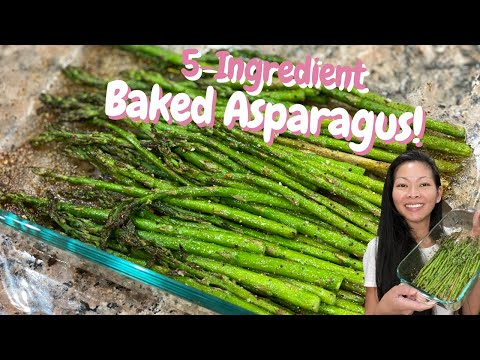 How to Bake Asparagus in the oven